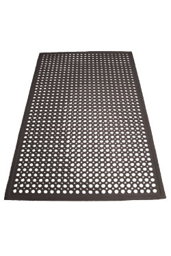 how to clean bar floor mats