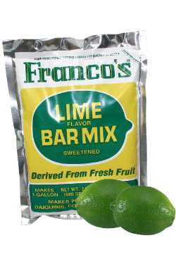Lime cocktail mix