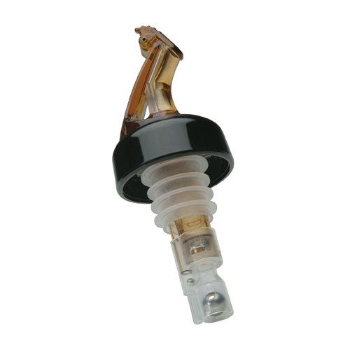 Amber 3 Pack 2 oz Precision Pour Spouts Measured Pourer w//Flap